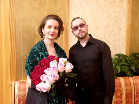 Состоялся сольный концерт и презентация альбома русских романсов Марии Суворовой!